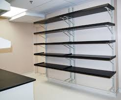 Wall Shelves by Beautiful Wall Mounted Garage Shelving 98 For Lighted Wall Shelves