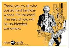 Thank You Birthday Meme - 30 sarcastic funny thank you memes entertainmentmesh