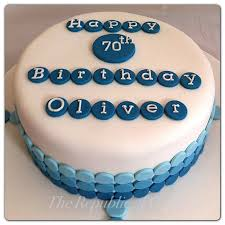 simple birthday cake for men plain birthday cake decorating ideas