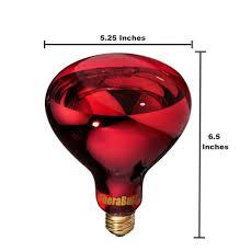 250 watt infrared heat l bulb near infrared silicone coated safety bulb 250 watt therabulb