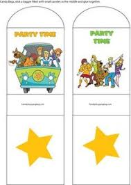 banner piece scooby doo birthday printables