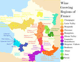 Marseille France Map by France Wine Map Recana Masana