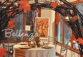 elegant decorating ideas for an autumn wedding reception unique