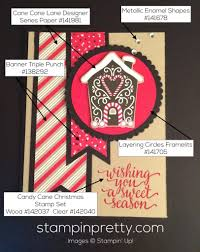 gingerbread house holiday card idea stampin u0027 pretty