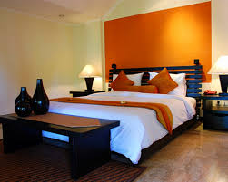 what color goes with orange walls home interior wall decoration