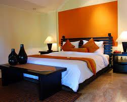 orange color block rugs home interior wall decoration