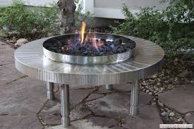 Stainless Steel Firepit Pit Collection Ideas Stainless Steel Firepits Modern Design