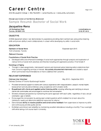Social Worker Resume Sample Templates by Bsw Resume Resume For Your Job Application