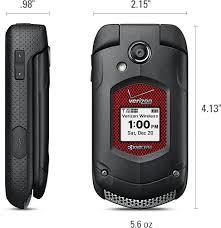 Rugged Phone Verizon Kyocera Duraxv Rugged Waterproof Flip Phone