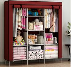 Clothes Storage Solutions by New Portable Bedroom Furniture Clothes Wardrobe Closet Storage