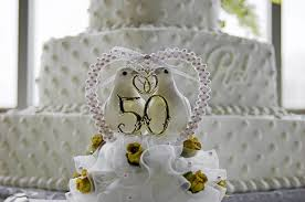 50th wedding cake topper wedding cake ideas