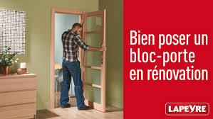 comment poser une porte de chambre pose en r novation d un bloc porte comment poser une de