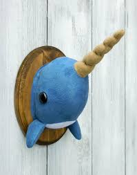 taxidermy home decor narwhal faux taxidermy home décor