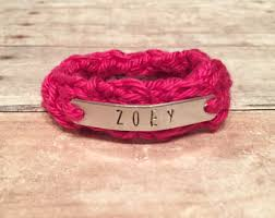 infant name bracelet baby bracelet etsy