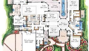 stunning luxury villa house plans gallery best idea home design