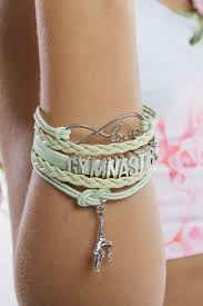 bracelet infinity images Infinity gymnastics bracelet mint gmd activewear australia jpg