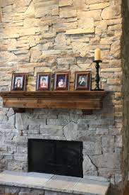 how to put stone on a fireplace abwfct com