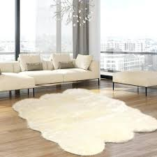 faux sheepskin area rug cheap faux fur sheepskin rug u2013 itsfashion club
