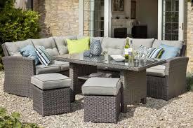 rattan garden corner sofa dining set centerfieldbar com