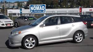 toyota matrix xrs used 2004 toyota matrix for sale abbotsford bc