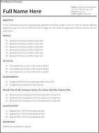 microsoft word resume format resume format micxikine me