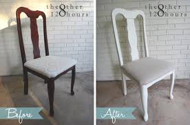 Refinish Dining Chairs Ally And Callie The Other 128 Hours Diy Seat Upgrade Refinishing
