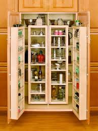 Kitchen Freestanding Pantry Cabinets Kitchen Beautiful And Space Saving Kitchen Pantry Ideas To