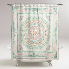 Whimsical Shower Curtains Whimsy Whimsical Bathroom Update Sponsored By World Market