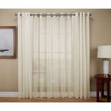 Sheer Grommet Curtains Sheer Curtains U0026 Drapes Window Treatments The Home Depot