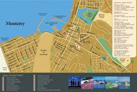 Usa Tourist Attractions Map monterey tourist attractions map