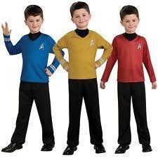 Star Trek Halloween Costume Rubie U0027s Star Trek Uniform Costumes Ebay