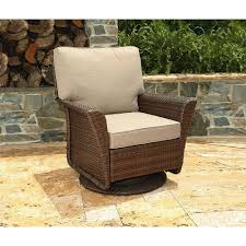 Swivel Wicker Patio Chairs by Ty Pennington Style Parkside Swivel Glider Chair Outdoor Living