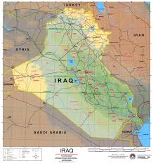 Baghdad Map Nationmaster Maps Of Iraq 76 In Total
