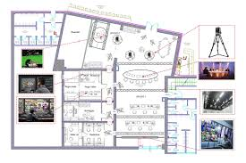 Tv Studio Floor Plan by Static Control Room For Tv Production Videe Spa