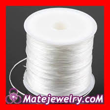 bracelet elastic string images White nylon string for bracelets from china manufacturer jpg