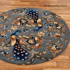 Brown And Gray Area Rug Majestic Peacock Slate Gray Area Rugs