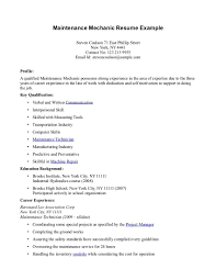 sample resume maintenance worker maintenance resume msbiodiesel us how to make a resume for a highschool graduate with no experience maintenance resume