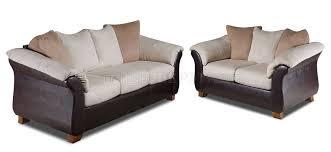 microfiber sofa and loveseat combo microfiber sofa loveseat set w dark bonded leather base