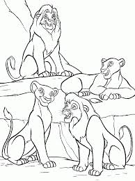 lion king coloring pages online simba with flowers coloring page