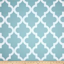 rca trellis blackout drapery fabric aqua mist discount designer
