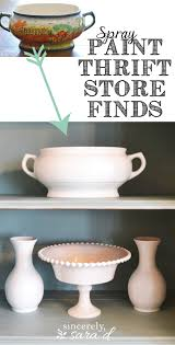 19 awe inspiring farmhouse decor ideas to transform your home spray paint thrift store finds