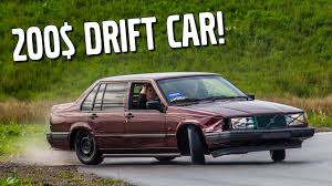 build your own volvo how to build a cheap 200 drift car youtube