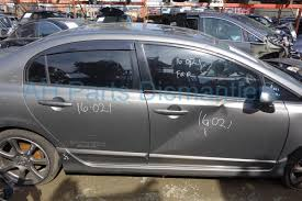 buy 189 2007 honda civic rear bumper cover only gray 04715 snx