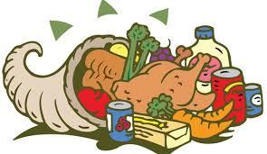 thanksgiving basket clip cliparts