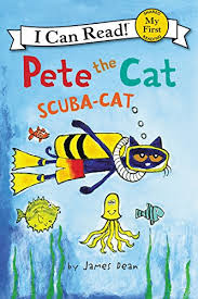 pete the cat scuba cat my i can read