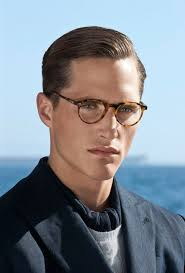 hair stlyes with side parting oval face small forehead 40 favorite haircuts for men with glasses find your perfect style