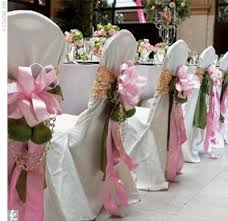 pew bows for wedding large silk floral arrangements for church add sparkle to 40