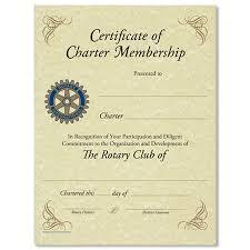 rotary club certificate template 28 images membership