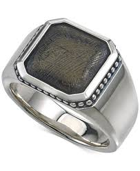jewelry rings mens images Esquire men 39 s jewelry meteorite ring in sterling silver created tif