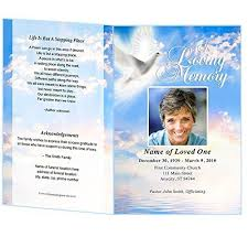 templates for funeral program peace funeral program template edits in microsoft